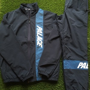 【palace skateboards】-パレススケートボード-PSB SHELL TOP&BOTTOMS NAVY
