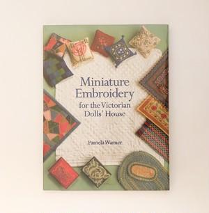 ミニチュア家具の刺繍やキルト Miniature Embroidery