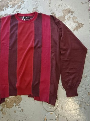 "ink ""LOOSE KNIT"" RED COLOR"