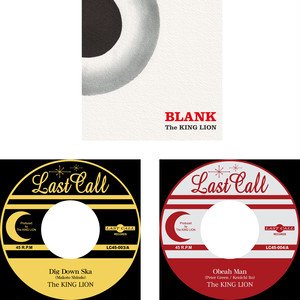 [セット割] BLANK + 7inch 2titlesセット - The KING LION