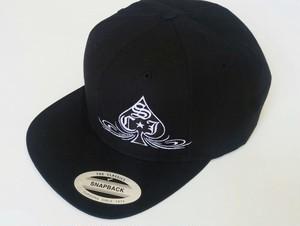 SCJ Spade Hat 【Black】