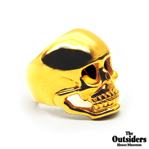 The Outsiders Dallas Winston Skull Ring (24kt Gold Coating)