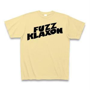 FUZZKLAXONロゴTシャツ クリーム