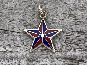 Wells Sterling Charm-Star