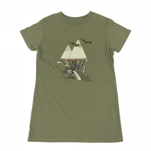 Teton Bros. / 10th Annyversary Tee women's(khaki)