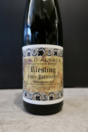 Riesling Cuvée Particulière 2015 / Gerard Schueller(リースリング キュヴェ パルティキュリエール/ジェラール シュレール)
