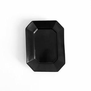 「プレート」1型 小黒  plate  type-1 small black