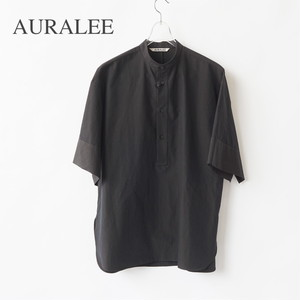 AURALEE/オーラリー ・WASHED FINX RIPSTOP CHAMBRAY HALF SLEEVED SHIRTS