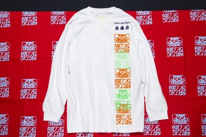 CRASTY 2021 1OF KIND L/S TEE (WHITE / L size)