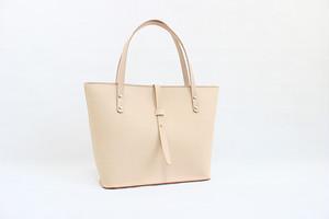 JAPAN LANSUI DESIGN 名入れ対応 ヌメ革手作り手縫い トートバッグ ファスナー付き 品番HDUJEHBVHJS83HDF73