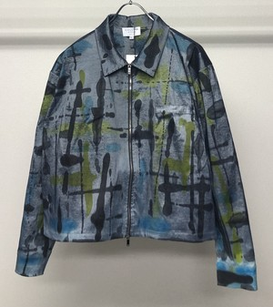 COLLINA STRADA TIEDYE NYLON JACKET