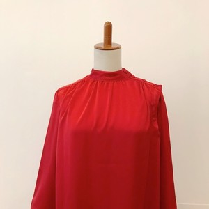 SINME STAND COLLAR BLOUSE