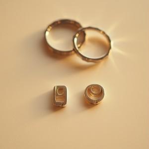 リングホルダーネックレス(トップのみ※チェーン無し) / サージカルステンレス / 金属アレルギー対応 指輪ホルダー