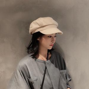 【ACC】スエードベージュブラックブラウン帽子23890195