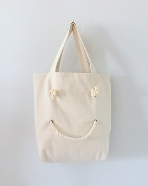 SMILE TOTE・CANVAS・M