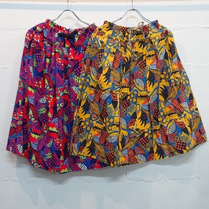 Tige brocante  ラジャスタンプリントポケットフィセルスカート