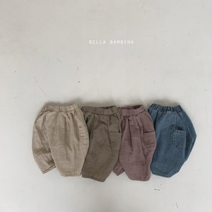 =sold out=falling finger pants【baby】〈bella bambina〉