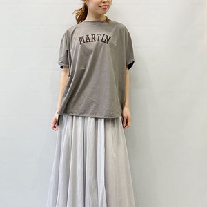 """MICA&DEAL(マイカアンドディール) """"MARTIN""""ロゴワイド ドルマンT-shirts 2021夏物新作[送料無料]"""