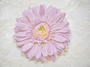 gerbera snap hair clip〜purple〜
