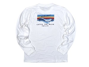 【Catch the wave long sleeve】/ white