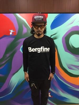 """Bergfine"" Official Tee (Black)"