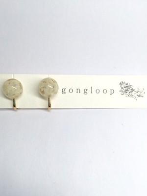gongloop アマランサス イヤリング