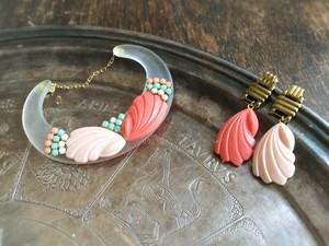 vintage pierced earrings <PE-SHcbA>