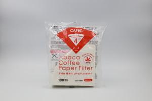 三洋産業 アバカ円すいコーヒーフィルター 白(2~4杯用)