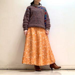 dsl-233 シルクサリー 巻きスカート ロング