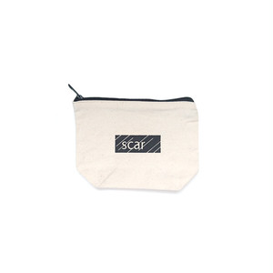 scar /////// BLACKBOX DAILY POUCH (Small) (Natural)