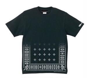 BLACK[YUNA×LOWRANK]コラボTシャツ(※数量限定)