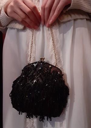 Beads chain mini bag ビーズチェーンミニバッグ