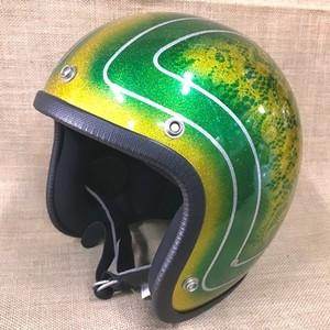 タチバナ   SHM ヘルメット サンバースト3 ボムフラワー カローライエロー M