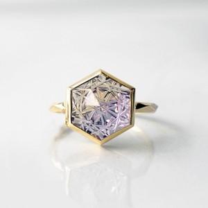 Ametrine KIRIKO Ring (Hexagon / R165-AT)