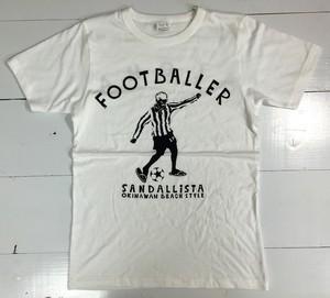 FOOTBALLER SANDALLISTA / WHT+BLK