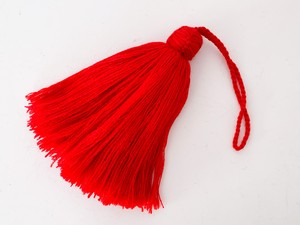 wool big tassel L (TS002RD)