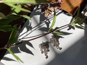 bubble chandelier pierce/earrings
