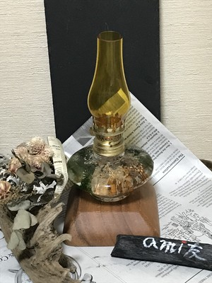 ボタニカルオイルランプR(花•オイル付)