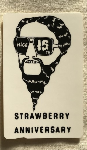 「STRAWBERRY ANNIVERSARY」 IC Card Sticker (A)