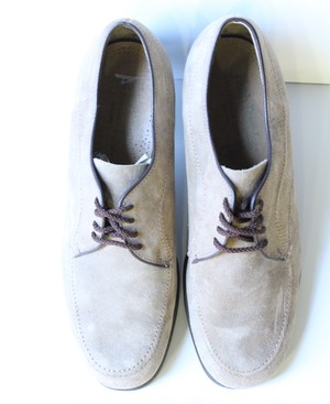 "Suede ""Hush-Puppies"" shoes"