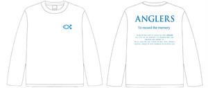 ANGLERS ロングTシャツ 2(WHITE)