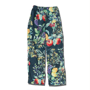 FRUITS PATTERN PANTS / GREEN