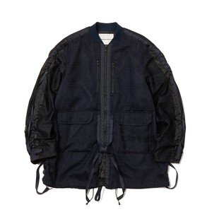 MESH SHIRRING MA-1 -NAVY