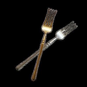 Silver tea fork / ティー フォーク