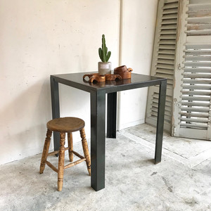 Thin Iron Cafe Table