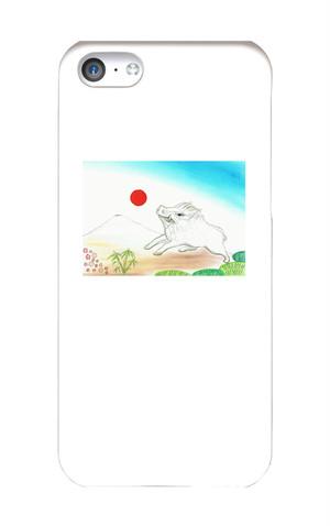 開運!干支デザイン・スマホカバー「亥(いのしし)」