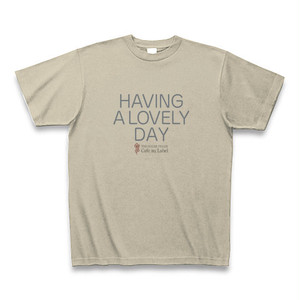 Tシャツ / HAVING A LOVELY DAY / THE SUGAR FIELDS / Color [Silver Gray]