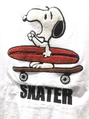 Surf's Up Snoopy メンズTシャツ 相良刺繍Tシャツ ポケT