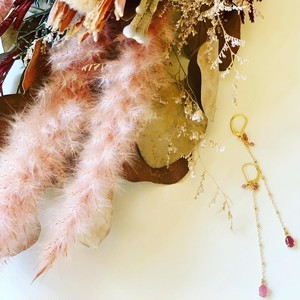 Pinktourmaline Earrings