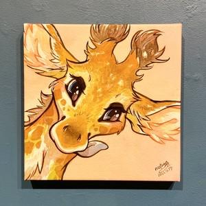 【mofuwa】原画「BABIES(giraffe)」